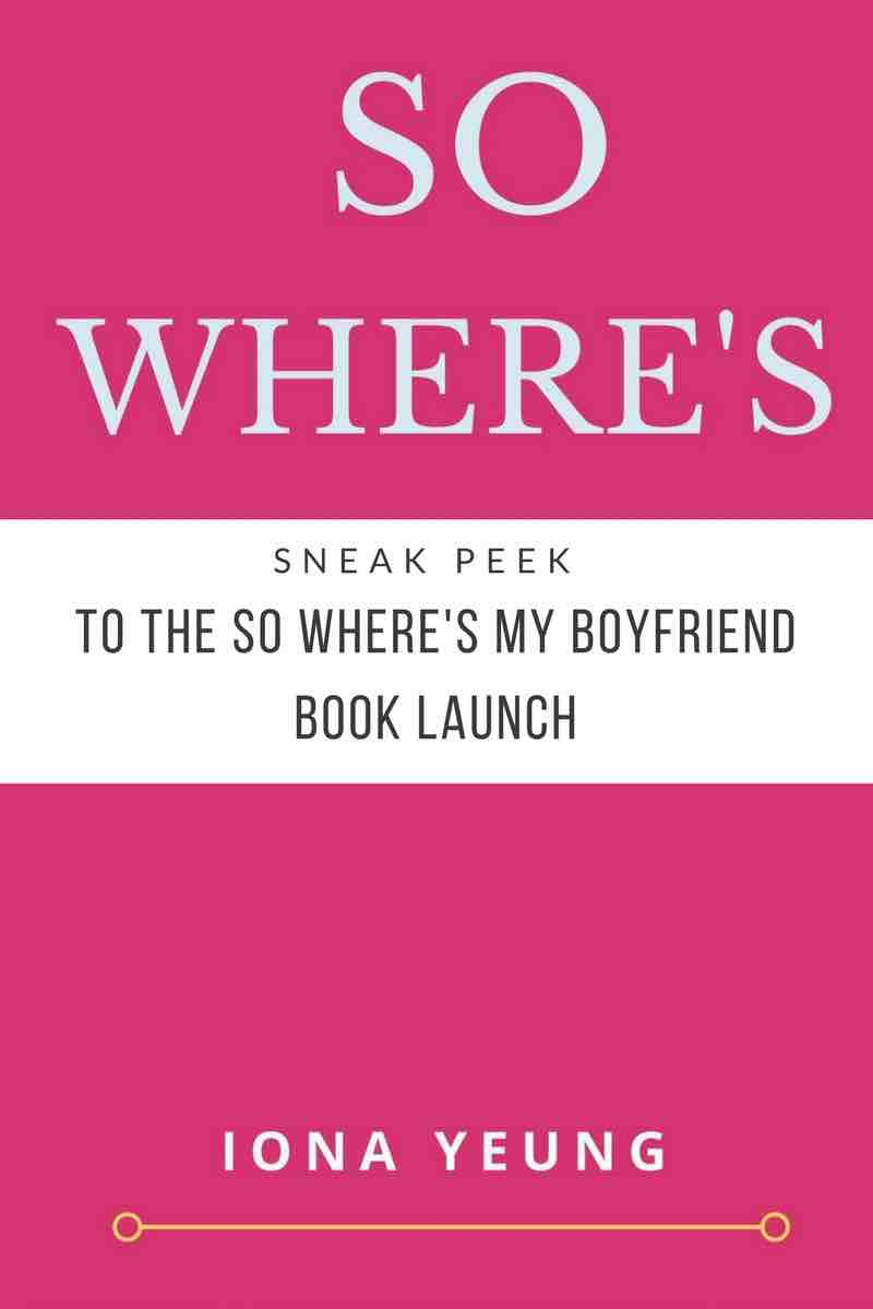 So Wheres My Boyfriend Book