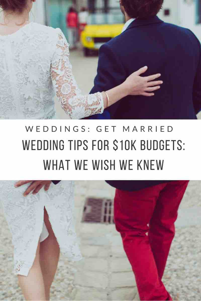 Weddings on a 10k budget