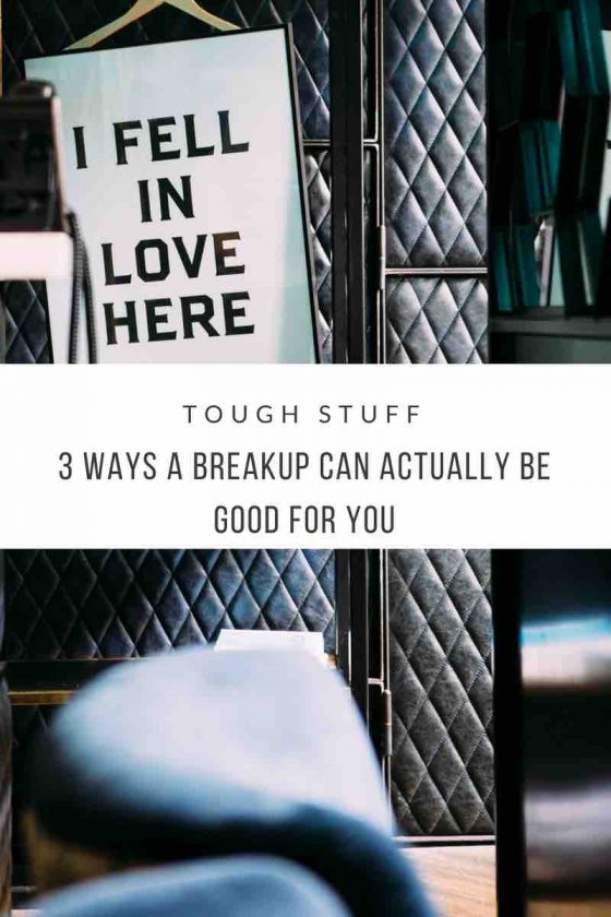 Benefits of a breakup