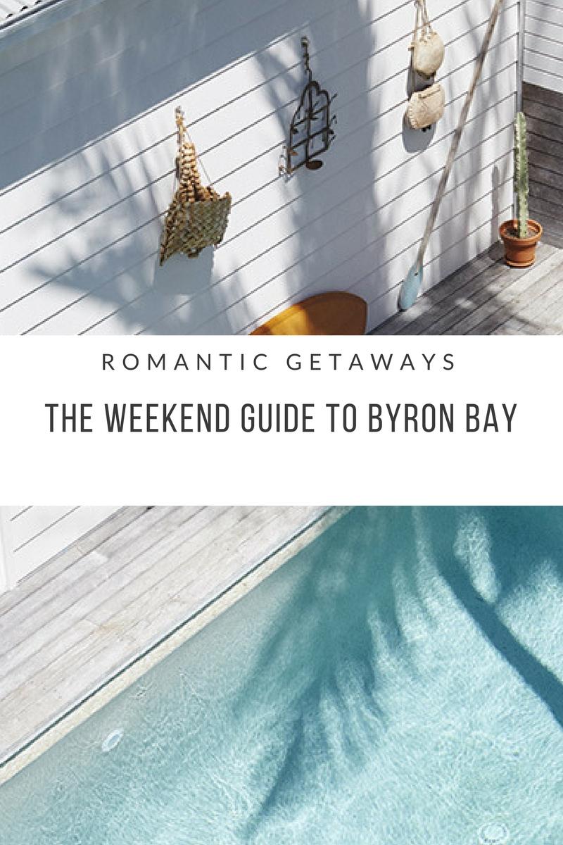romantic getaway in byron bay