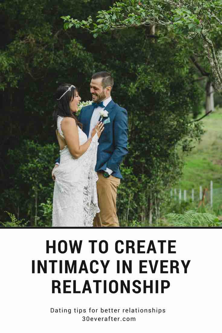 How to create intimacy in a relationship