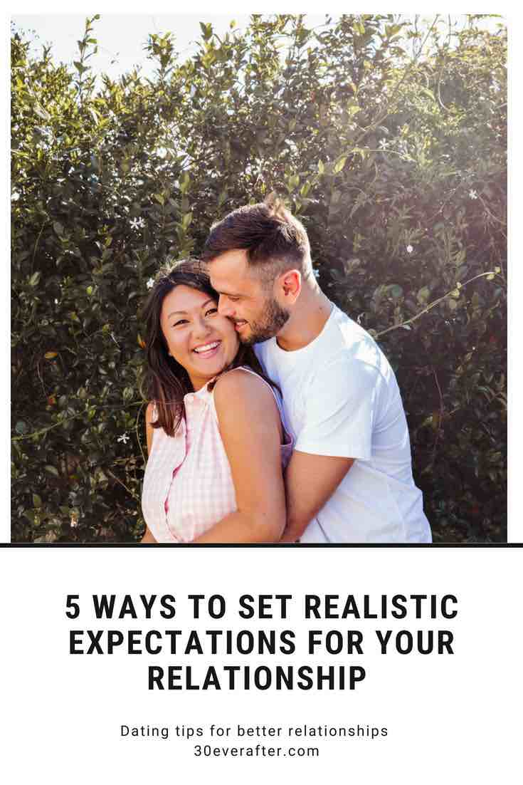 how to set realistic expectations for your relationship